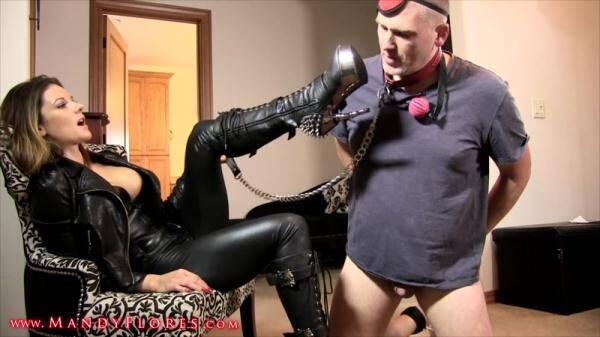 MandyFlores.com: Mandy - Boot Bitch: Boot Domination (01.03.2016/FullHD)