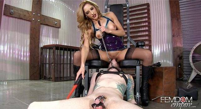 Domination - Suffer For Her Pleasure - Pussy Worship [FullHD, 1080p]