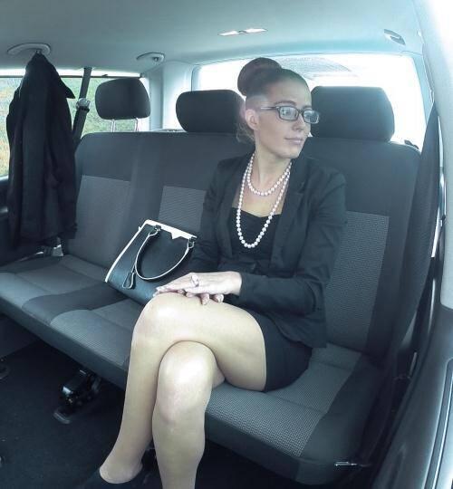FuckedInTraffic.com/PorndoePremium.com - Samantha Joons [Horny chauffer George Uhl fucking office lady Samantha Joons] (FullHD 1080p)