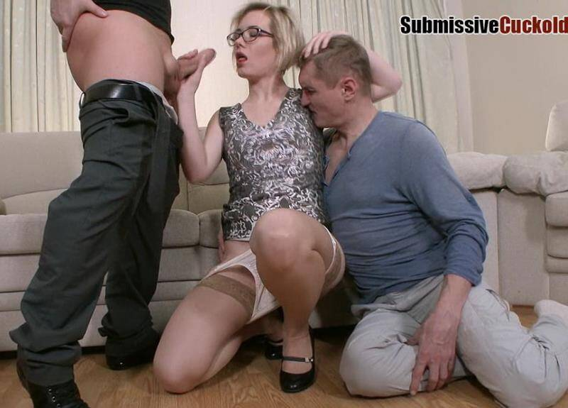 Submissivecuckolds - Mistress Dayana - Wife With Glasses Fuck In Ass [2016 HD]