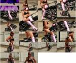 Amateur- Pink booted biker bitch  [SD 720] RedOptics.com