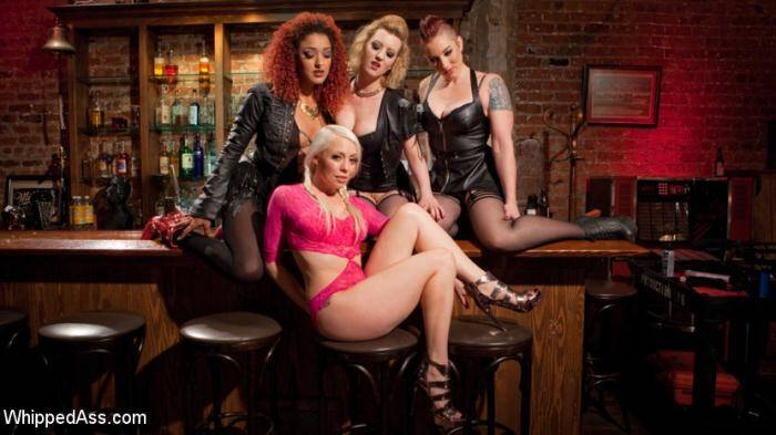 WhippedAss.com/Kink.com - Lorelei Lee , Cherry Torn , Mistress Kara, Daisy Ducati - Dyke Gang 2: Lorelei Lee Devoured by Hot Horny Lesbians!  [SD 540p]