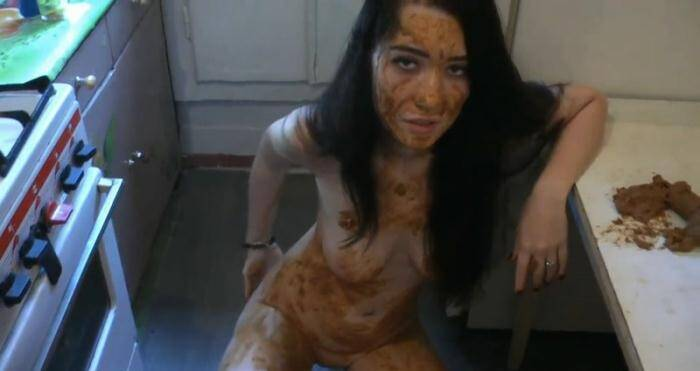 Scat - Rus Girl - Matilda's Kitchen and Bathroom Scat Destruction. Part 1 (Extreme Porn) [FullHD, 1080p]
