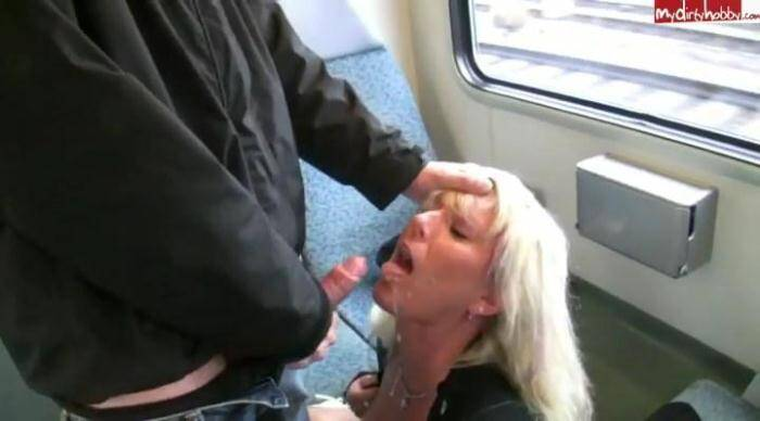 Offentlicher Spritz-Skandal in der S-Bahn [SD, 400p] - Public sex