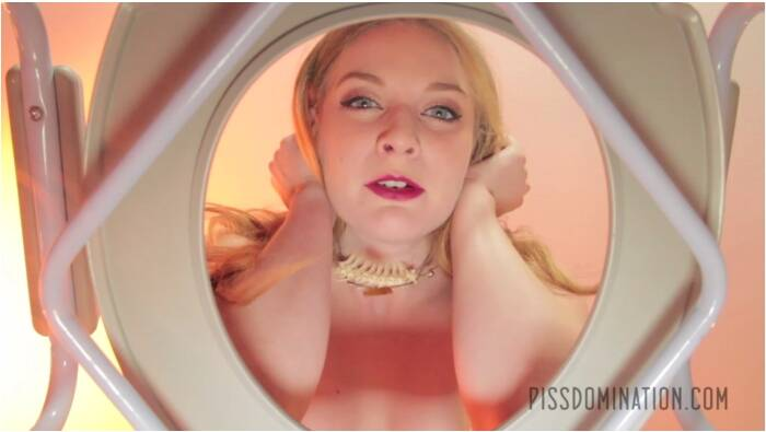 Pissing and Domination - Ela Darling - Pale Beauty Ela Darling Humiliates Toilet Slave  [FullHD 1080]