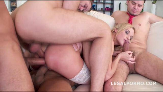 LegalPorno - My first Triple Penetration. Cristal Kaytlin get DP/DAP/GAPES/BALLDEEP. Top Style Czech Girl getting facialized GIO162 [SD, 480p]