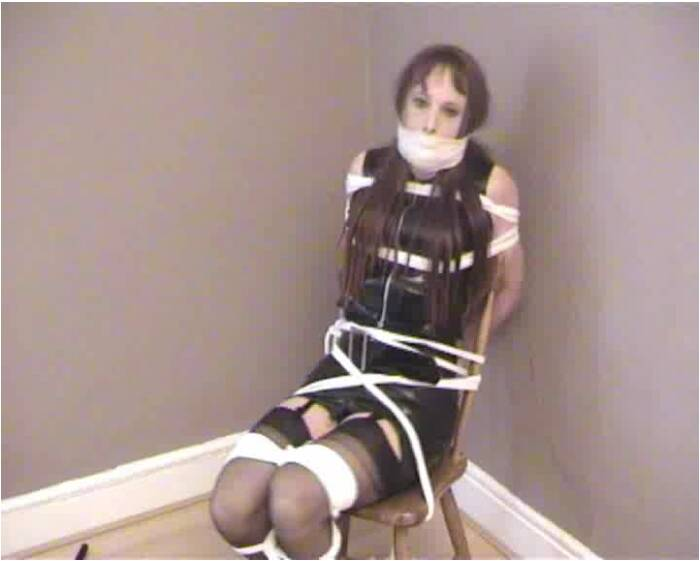 TvTied.com/Trussedup.com - Mistress Girls - Rachel Tvchix Girl Chairtied And Molested  [SD 576]