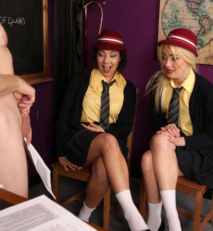 PureCFNM.com - Kirsty Travis, Louisa Moon - Vintage Teaching  [FullHD 1080p]