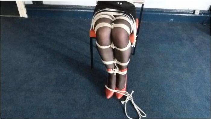 TvTied.com/Trussedup.com - Mistress Girls - Jeni Jeni Chairtied Hooker  [HD 720]