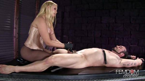 Female Domination: Prostate Wand Milking (2016/SD)