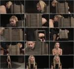 SexuallyBroken.com - Tiny blonde Odette Delacroix bound inside a box and roughly fucked from both ends by cock! (BDSM) [SD, 360p]