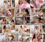DDF - Brigitte and Aria Logan - Bunny Sex - Lesbian Babes With Cram Their Tasty Snatches With Toes [SD, 360p]