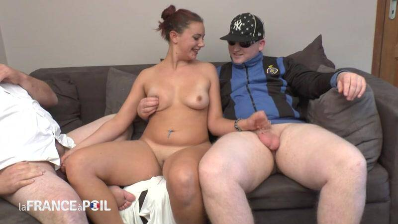 Dirty brunette slut gags on cum shot in mouth [HD] - NudeInFRANCE, LaFRANCEaPoil