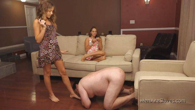 MenAreSlaves - Princess Sara and Princess Kendall - Shocking Is Good [HD, 720p]
