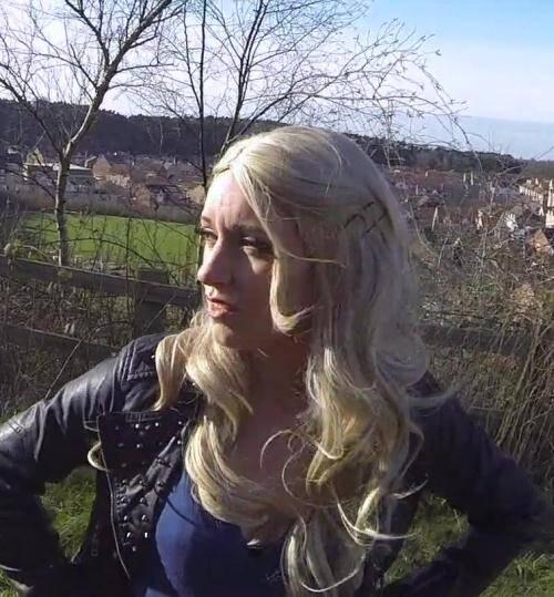 False Cop - Jasmine [Sexy litter bug taken home for sex] (FullHD 1080p)