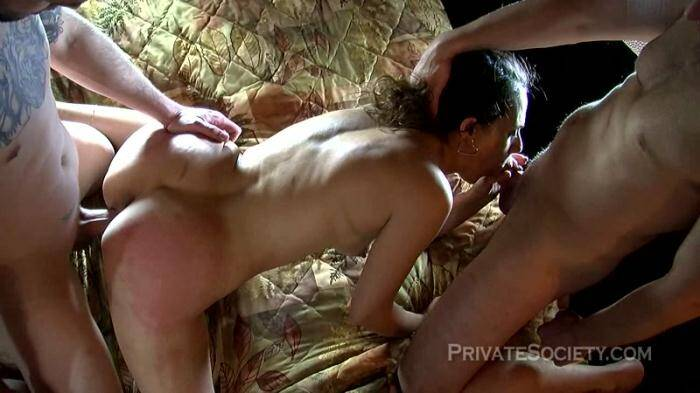 PrivateSociety: Sharon - Another Fantasy Granted - Group sex! (HD/720p/826 MB) 30.03.2016