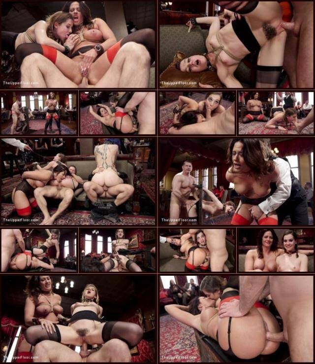 TheUpperFloor, Kink - John Strong , Holly Heart and Kasey Warner - Anal MILF trains Young Maid to worship cock [HD, 720p]