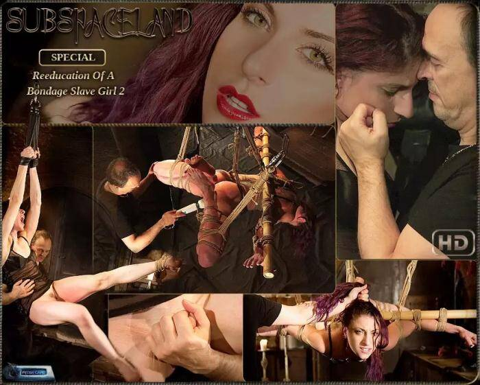 Space Land - Mia Phoenix - Reeducation of a bondage slave girl 2  [HD 720p]