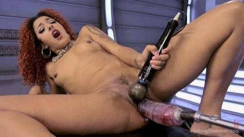 FuckingMachines.com [Daisy Ducati - Pussy Stretched with Big Red, Ass Fucking, and Non Stop Squirting!] HD, 720p)