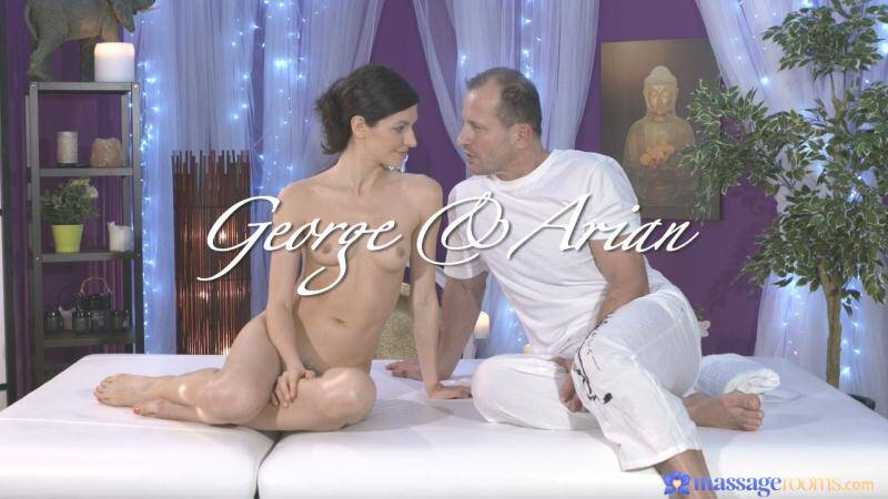 image Arian and eveline dellai ride doubleended dildo
