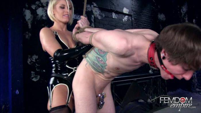 Female Domination - Ravaged by the Strap-on (Femdom) [HD, 720p]