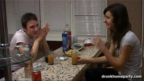 4.An evening event at home ends up with a fuck [SD, 360p] [Drunkhomeparty.com] - Drunken