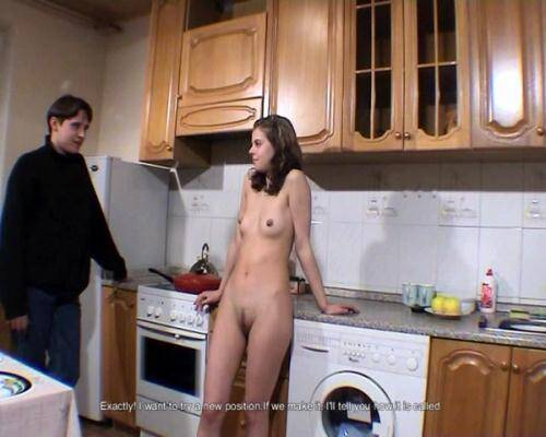 Amateur [Masha - Meeting in the kitchen] SD, 576p)