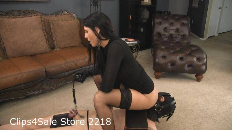 BarefootPrincessVideo.com: Goddess Melanie - Cuckold Cum Puppet with Ass Worship [HD] (313 MB)