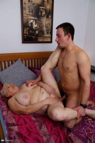 Lana C. (69) - Fucking with Granny! [SD, 540p] [Mature.nl] - Incest