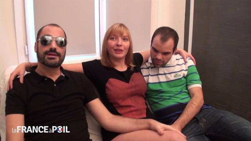 LaFRANCEaPoil.com/NudeInFRANCE.com: Pretty chubby Teen Stephanie, 18 yo, gets double teamed [HD] (601 MB)