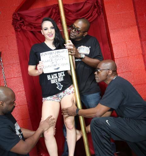 Rachael Madori - Interracial Porn  (2016/Blacks Blondes/HD/720p)