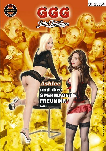 Bukkake - Ashlee Und Ihre Spermageile Freundin, Teil 1 (Group Sex) [SD, 480p]