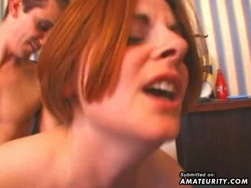 Two busty amateur girlfriend play with 2 dicks [SD] - Amateurity