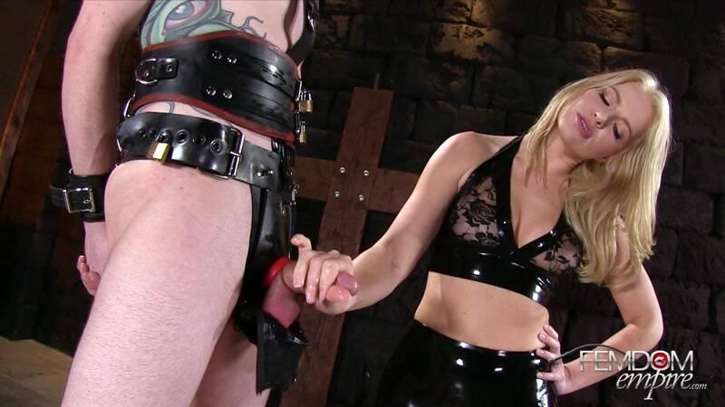 Rubber Chastity Release - FemdomEmpire [FullHD] - Domination