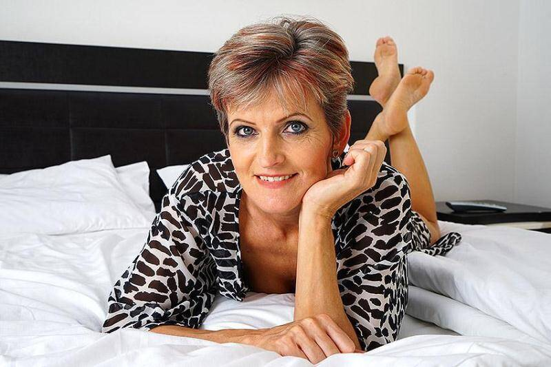 Carla S. (46) - Mature mama gettin all dirty [SD] - Mature.nl, Mature.eu
