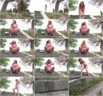 Teen Girl Piss - Windy Steps [FullHD, 1080p] [G2P] - Pissing