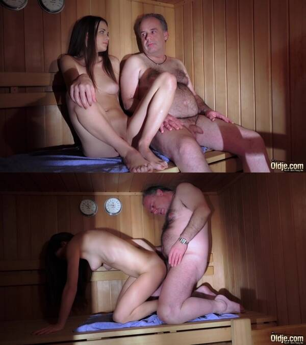 Old and Young - Baby Jewel - Sauna Of Hot Young Desires [FullHD 1080p]