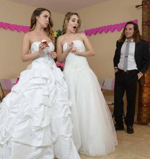Weddings - Dillion Harper , Kimmy Granger [Big Natural Tits Porn] (HD 720p)