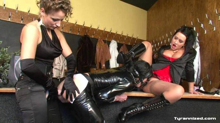 Tyrannized.com - Carmen Black, Gina Killmer - Anal Fucking Slave! (Strapon) [HD, 720p]