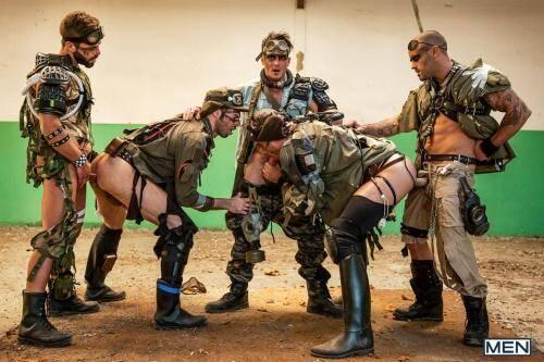 Damien Crosse, Dario Beck, Hector De Silva, Jay Roberts, Paddy O'Brian - Apocalypse Part 4 [HD, 720p] [JizzOrgy.com/Men.com] - Gay