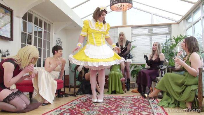 Eng Mansion - Pretty Maid Manor Part 1 (Femdom) [HD, 720p]