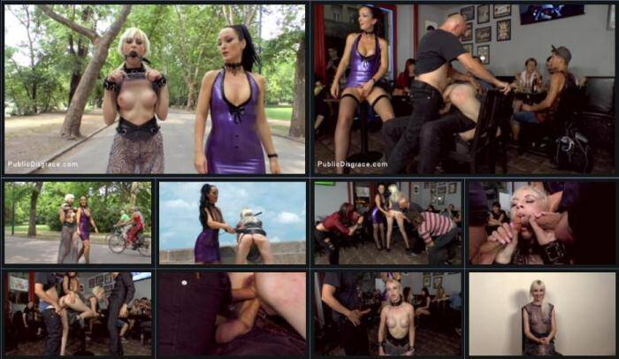 PublicDisgrace.com - Fetish Liza and Alexa Wild - Double Vaginal Public Humiliation (BDSM) [SD, 540p]