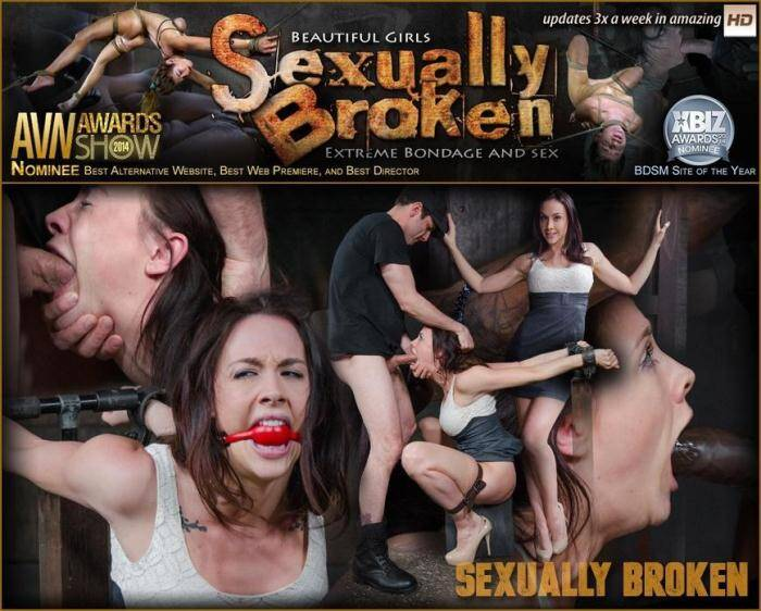 SexuallyBroken.com - Sexy Chanel Preston gets a orgasm and facefucking overload Sexuallybroken style in tight bondage! (BDSM) [SD, 360p]