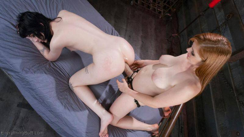 Penny Pax and Charlotte Sartre - Young, Beautiful, Tight assed Charlotte Sartre takes it ALL [SD] - EverythingButt, Kink