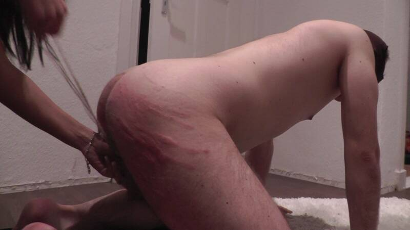 Goddess Milana BINDING, SLAPPING, KICKING [FullHD] - Clips4sale