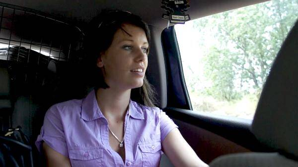 Angela - Fake taxi outdoor fuck (CzechHitchhikers.com) [FullHD, 1080p]