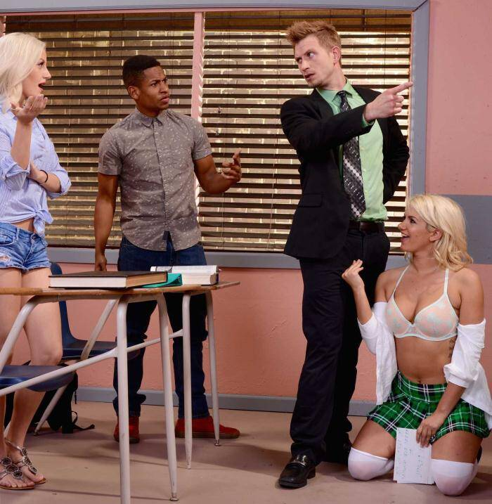 Tits School - Layla Price - The Oral Exam  [HD 720p]