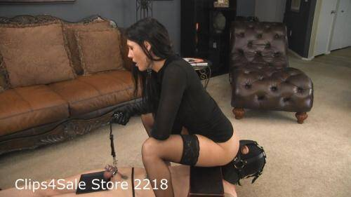 BarefootPrincessVideo.com [Goddess Melanie - Cuckold Cum Puppet with Ass Worship] HD, 720p)