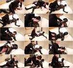 Savannah tickles, tortures and chokes a chained rubber girl [HD] - ReflectiveDesire
