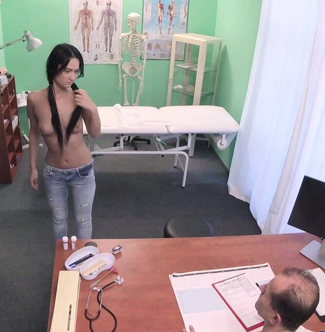 Hospital - Angie Moon - Petite brunette gets full treatment  [HD 720p]